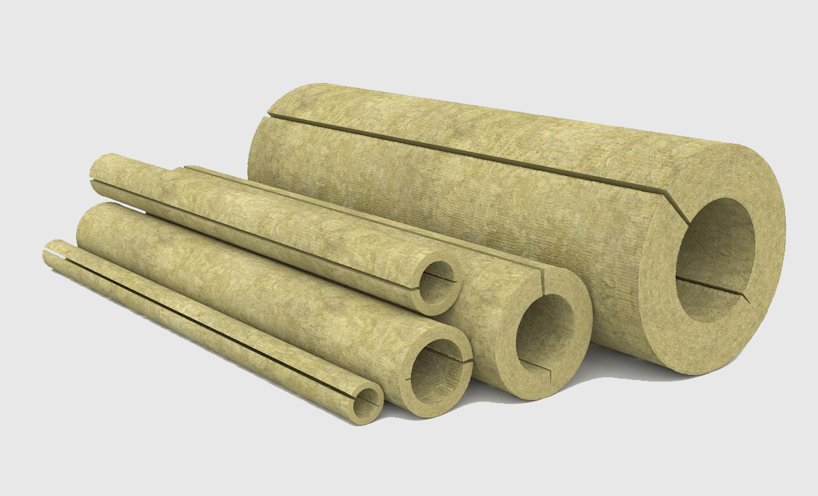 stone wool pipe insulation