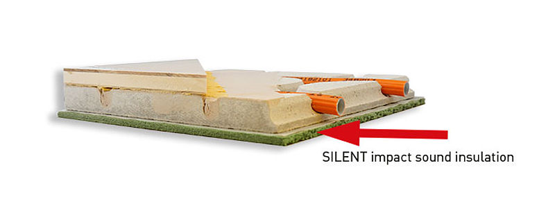 impact sound insulation